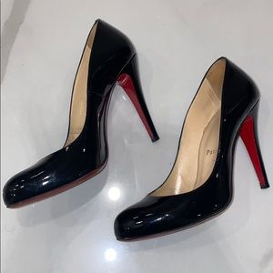 Louboutin Patent Leather Heels